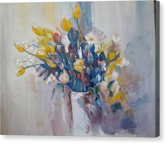 Tulips Flowers Canvas Print