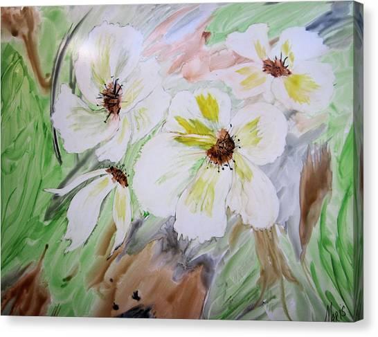 Flowers Canvas Print by Maris Sherwood