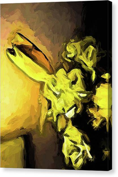 Flowers Of Yellow 1 Canvas Print
