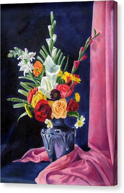 Flowers Pac Canvas Print by Rabindra Meher