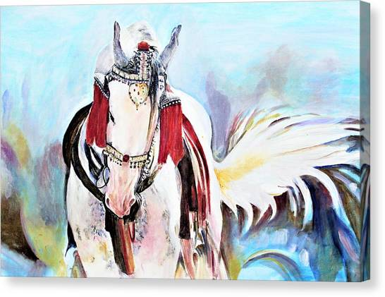 Flowing Tail Canvas Print