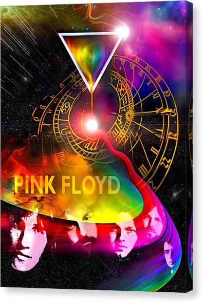 Floyd Time Canvas Print