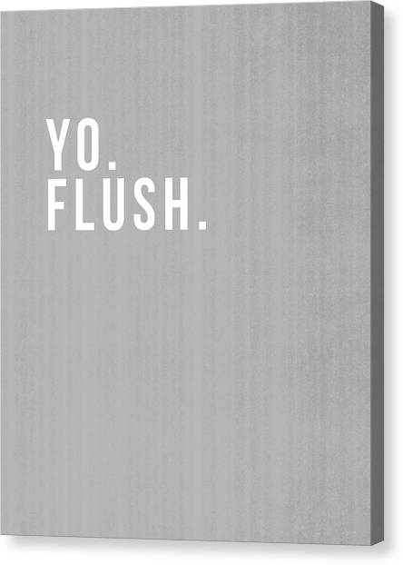 Design Canvas Print - Flush- Art By Linda Woods by Linda Woods