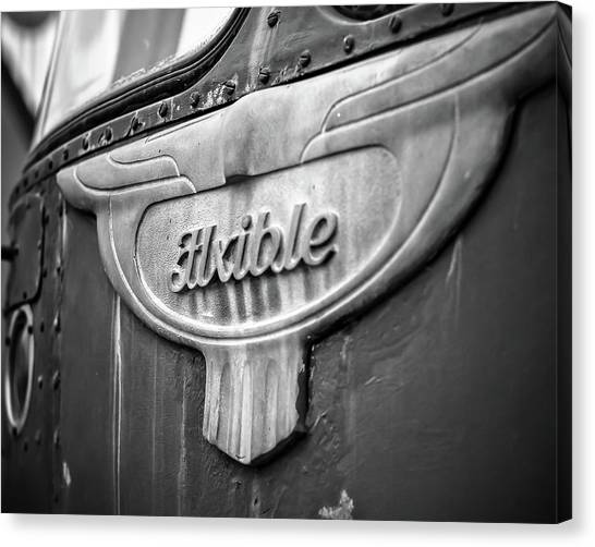 Flxible Clipper 1948 Bw Canvas Print