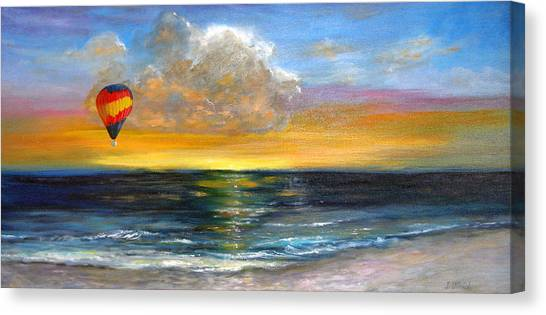 Fly Away Canvas Print by Jeannette Ulrich