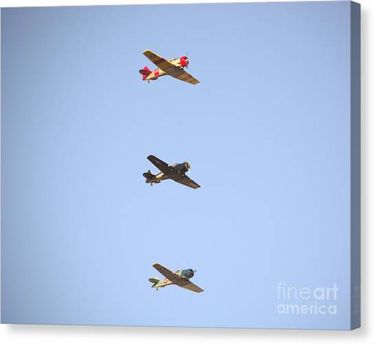 Fly Boys Canvas Print