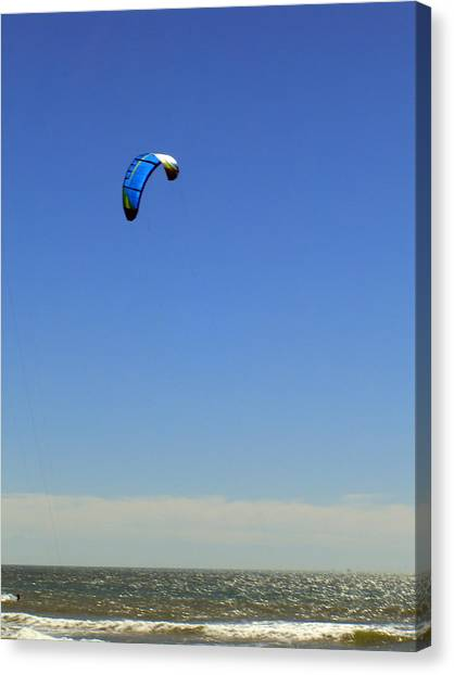 Fly In The Sky. Canvas Print by Robin Hernandez