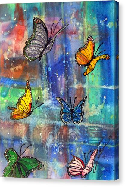 Flying Free Canvas Print by Cynda LuClaire