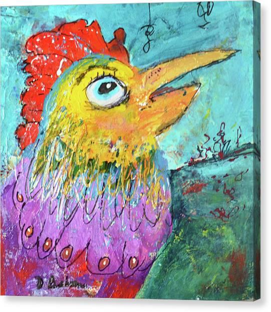 Canvas Print - Focus by Dolores Baker