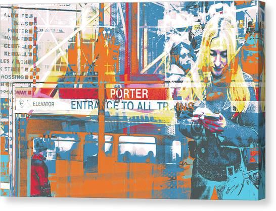 Focus Canvas Print by Shay Culligan