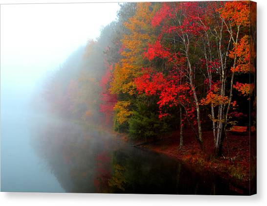 Clearing Fog Canvas Print