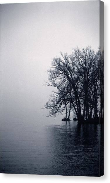 Fog Day Afternoon Canvas Print