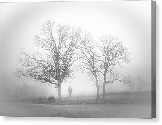 Fog Canvas Print by EG Kight