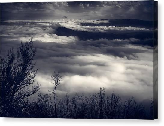 Fog Wave Canvas Print