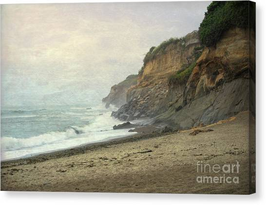 Canvas Print featuring the photograph Fogerty Beach by Craig Leaper