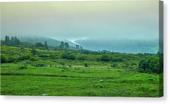 Canvas Print featuring the photograph Foggy Day #g0 by Leif Sohlman
