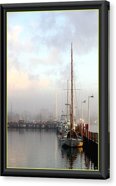 Foggy Day Canvas Print
