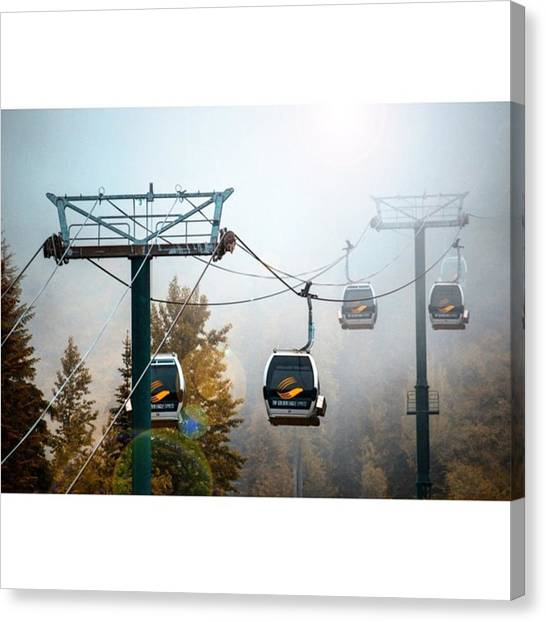 Scotty Canvas Print - Foggy Morning At Stairway To Heaven by Scotty Brown