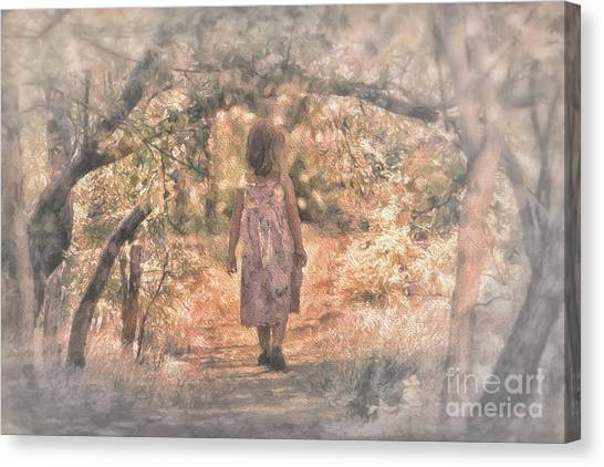 Foggy Morning Light Canvas Print
