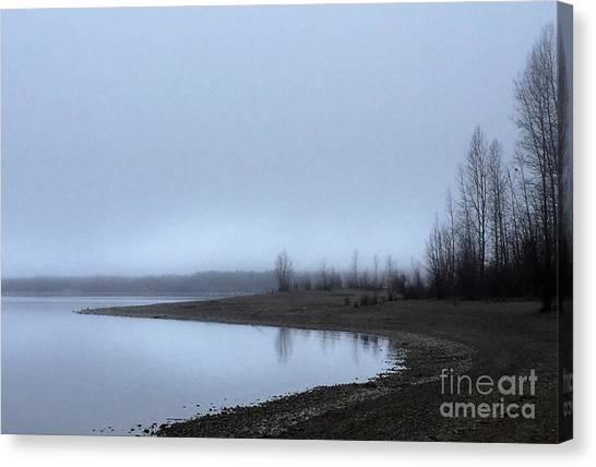 Foggy Water Canvas Print