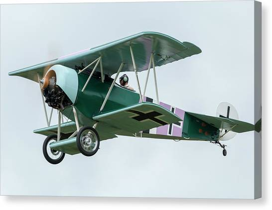 Fokker D.vi Overhead Canvas Print by Liza Eckardt