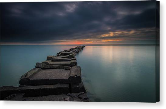 Follow The Curve Canvas Print