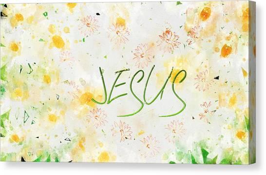 Follower Of Jesus Canvas Print