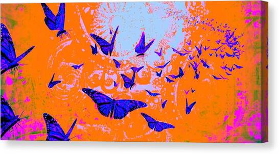 Yogi Canvas Print - Followers Of The Light by Brian Broadway