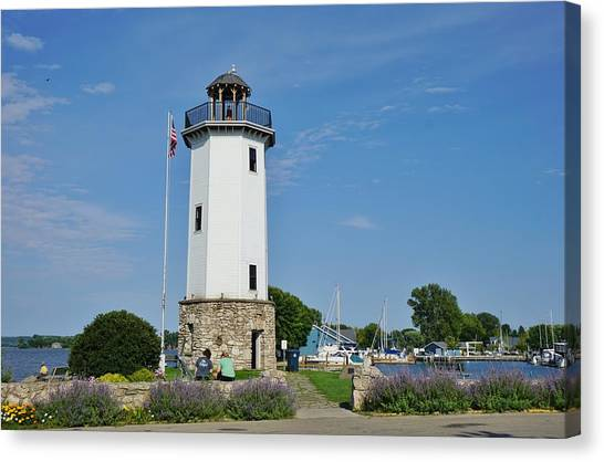 Canvas Print - Fond Du Lac Lighthouse by Red Cross