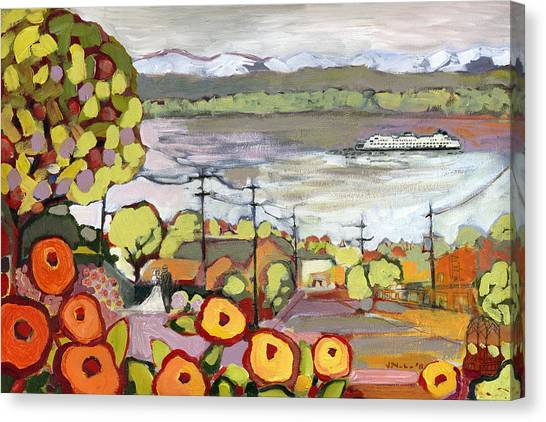 Seattle Canvas Print - Fond Memories by Jennifer Lommers