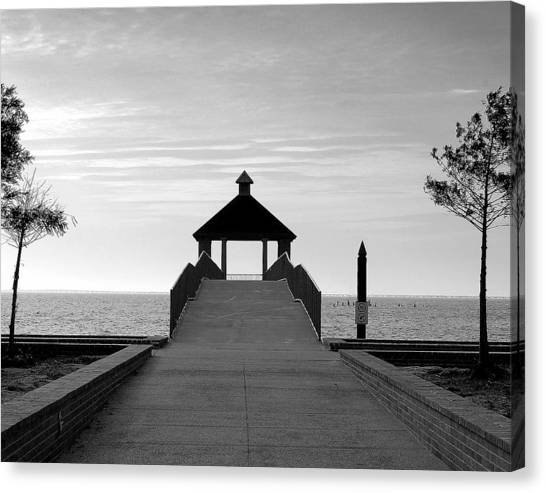 Fontainbleu State Park Canvas Print by Heather S Huston