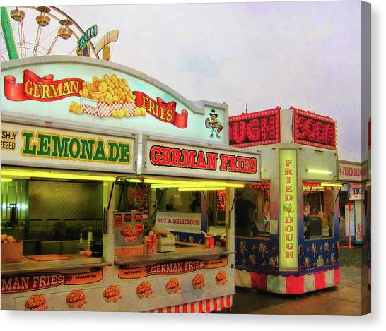 Food And Fun Canvas Print by JAMART Photography