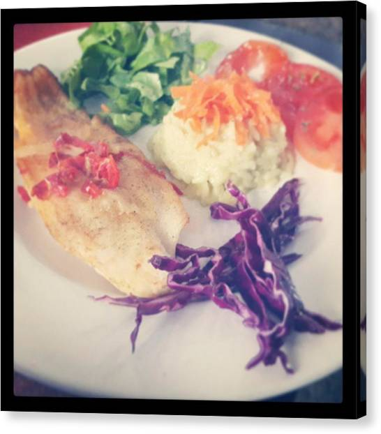 Portal Canvas Print - #food #fish by Fernando Portal