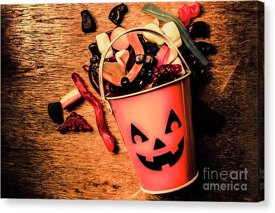 Knockout Canvas Print - Food For The Little Halloween Spooks by Jorgo Photography - Wall Art Gallery