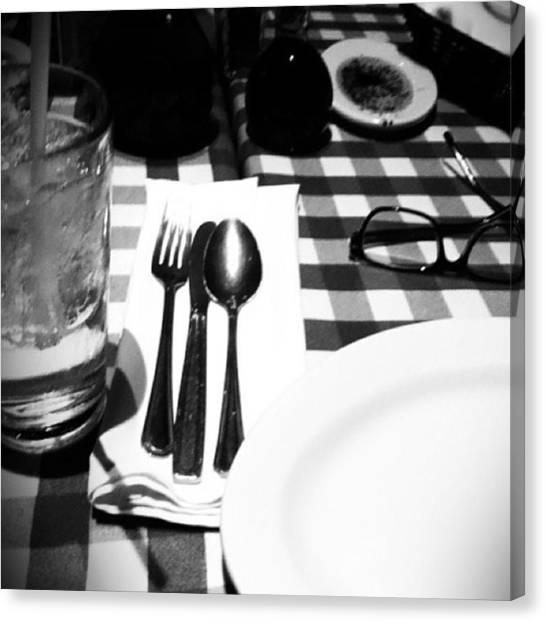 Kenyan Canvas Print - 🍴#food #restaurant #drink #glasses by Kenya Bates