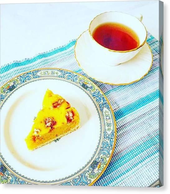 Sweet Tea Canvas Print - #foodpictures #yummy #handmade by Kaori Kurihara