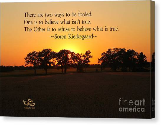 Fooled Canvas Print