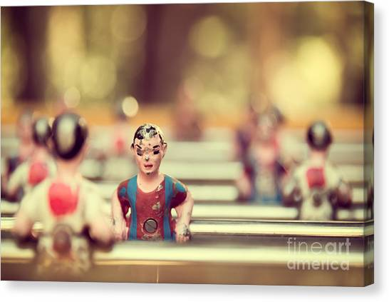 Dummies Canvas Print - Foosball by Delphimages Photo Creations