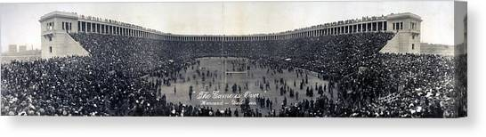Yale Canvas Print - Football, The Game Is Over Panorama by Everett