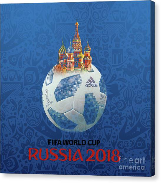 Lionel Messi Canvas Print - Football World Cup In Russia  by Gull G