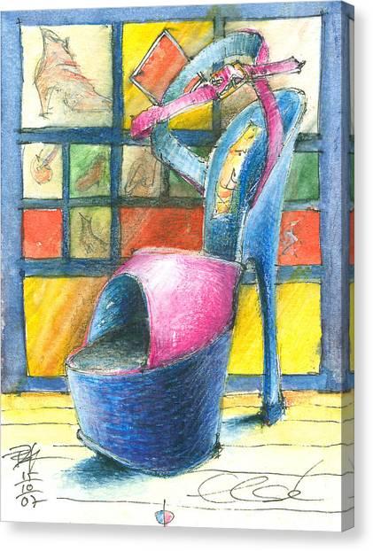 For Else Canvas Print by Joerg Bernhard Klemmer