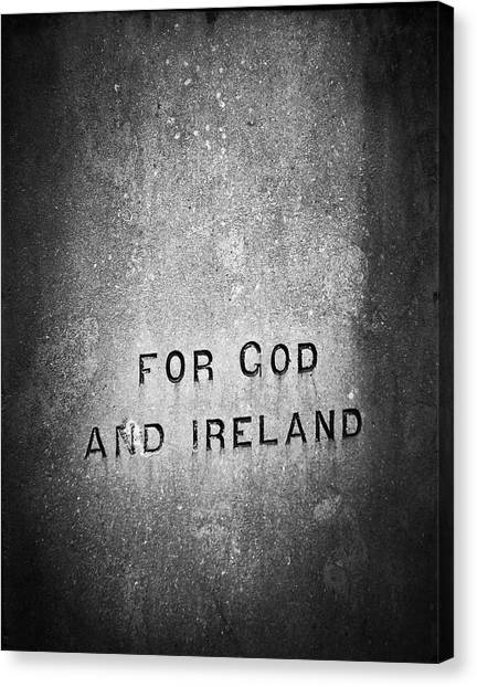 For God And Ireland Macroom Ireland Canvas Print