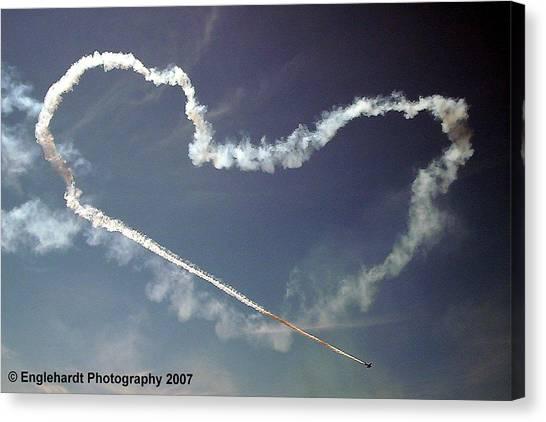 For The Love Of Flight Canvas Print by Jennifer Englehardt