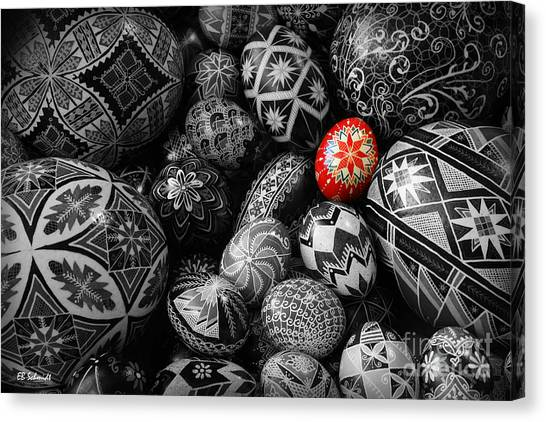 For The Love Of Pysanky Canvas Print