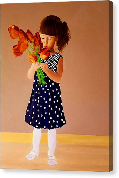 For You, Mom Canvas Print