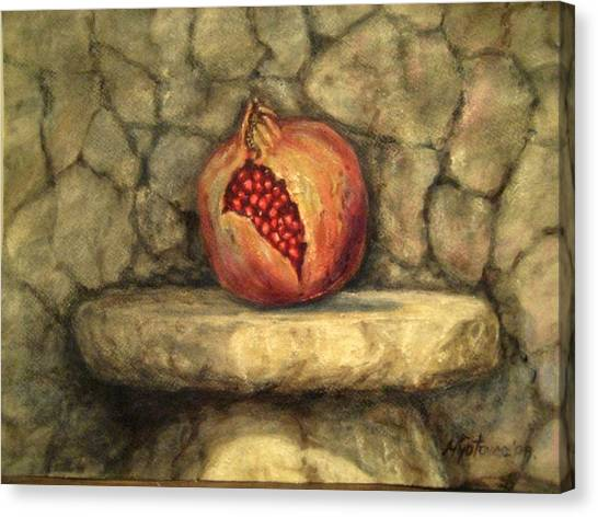 Forbidden Pomegranete Canvas Print