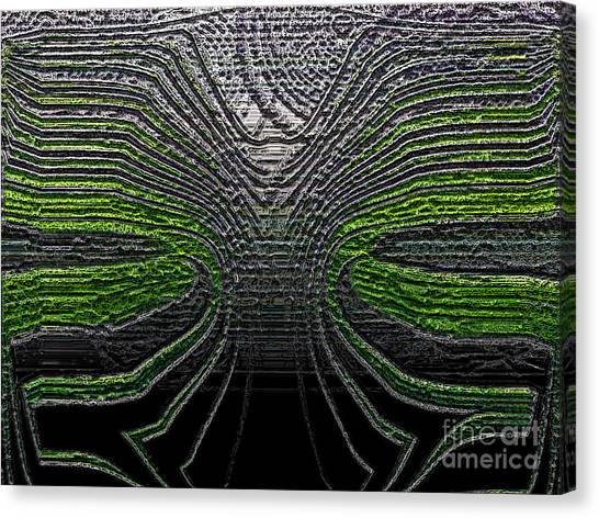 Force Lines Canvas Print by Patrick Guidato