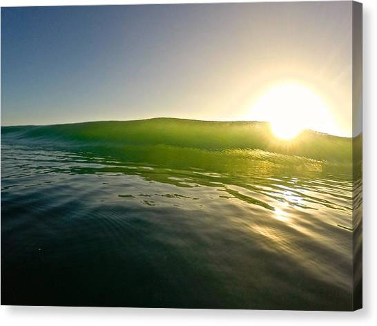 Bodyboard Canvas Print - Force Of Light by Benen  Weir