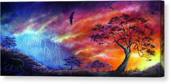 Force Of Nature Canvas Print by Ann Marie Bone