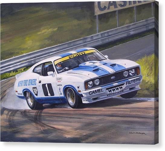 Ford Cobra - Moffat Racing  Canvas Print